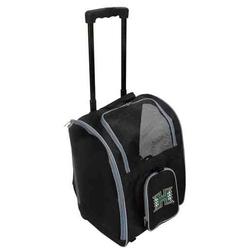 CLHIL902: NCAA Hawaii Warriors Pet Carrier Premium bag W/ wheels